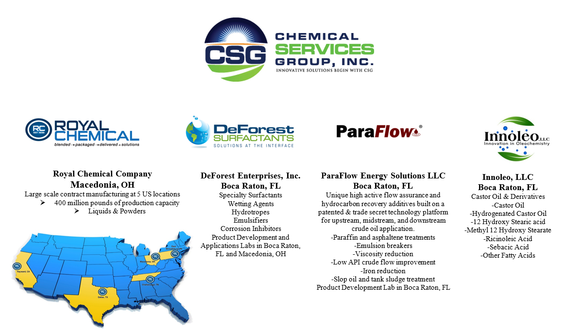 Chemical Services Group, Inc. 2020